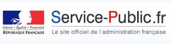 Logo site Service-Public
